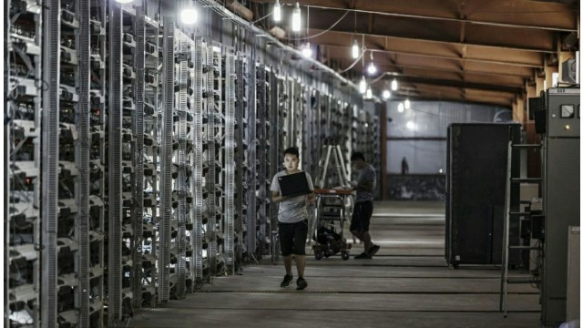 Bitcoin Miners Earn About $350 Million In One Month