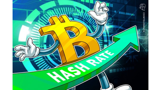 Total Hash Rate In The Bitcoin Network